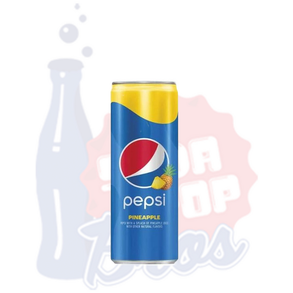 Pepsi Splash Pineapple (Can)