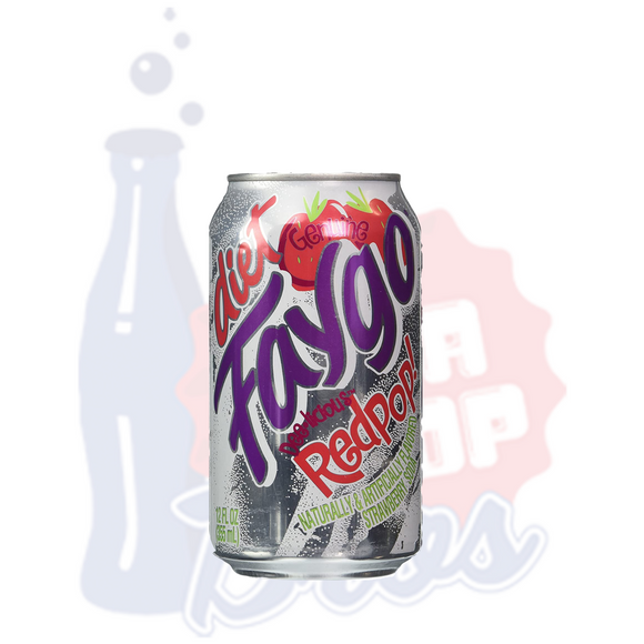Faygo Diet Red Pop (Can)