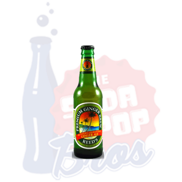 Reed's Premium Ginger Brew All Natural Jamaican Style Ginger Ale
