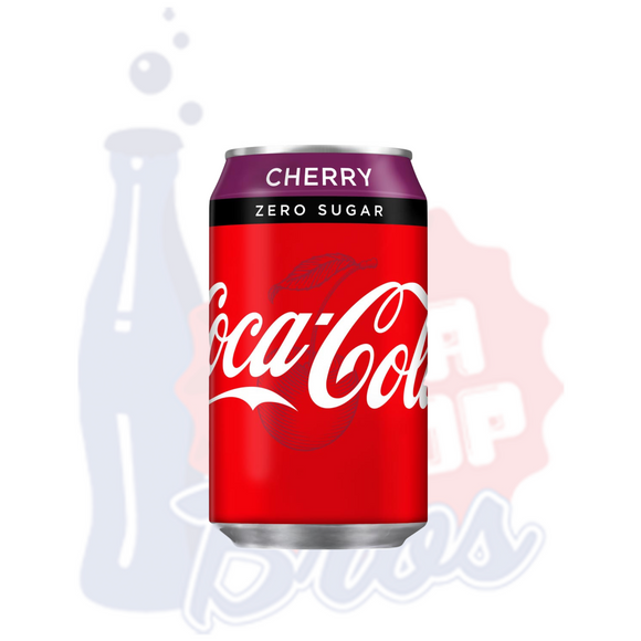 Coca Cola Zero Cherry (Can)
