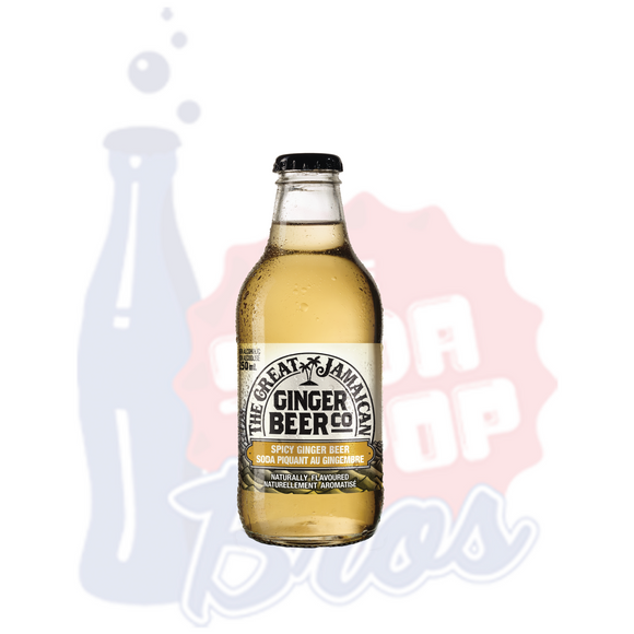 The Great Jamaican Spicy Ginger Beer