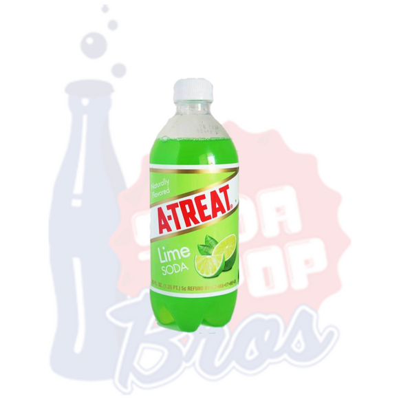 A-Treat Lime Soda (591ml)