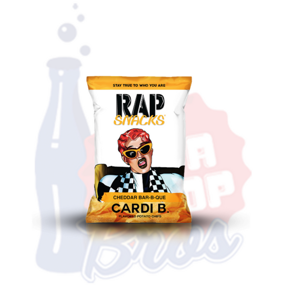 Rap Snacks Cardi B Cheddar BBQ Chips