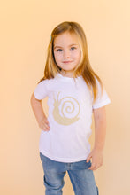 Load image into Gallery viewer, Baby & Toddler Snail Tee