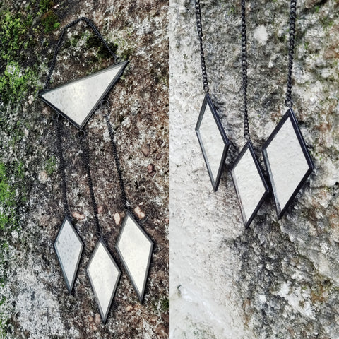 Wall Hanging - Triangle and Diamonds