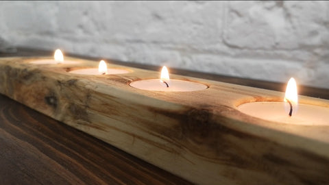 4LB T-Light (reclaimed wood)
