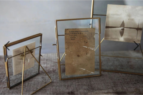 Antique Brass Photo Frame 5 x 7