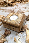 Rustic Treasure T-light (Cream)