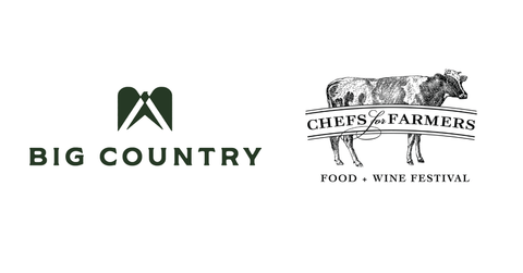 Big Country Foods and Chefs for Farmers logos