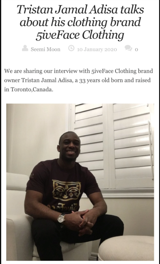 Clothing Brand Interview