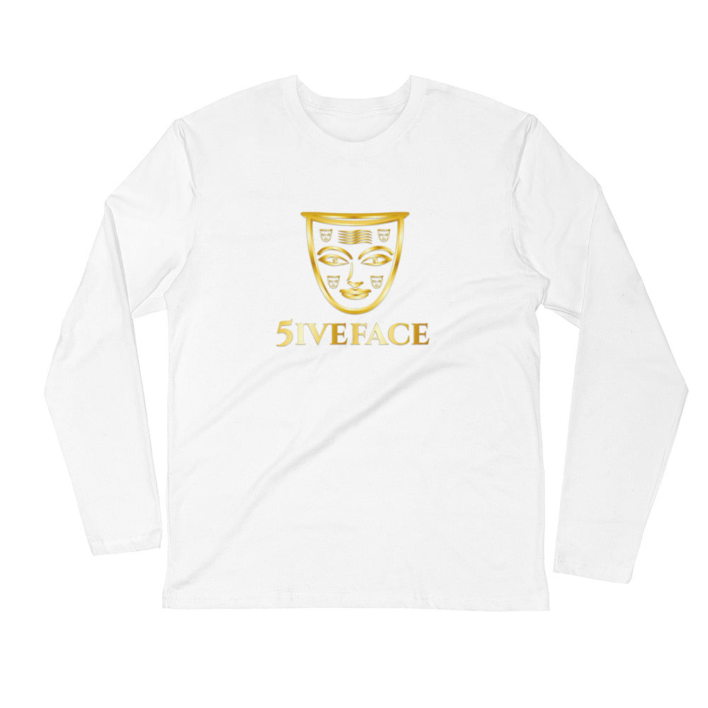 Long Sleeve Fitted Crew - 5iveFace