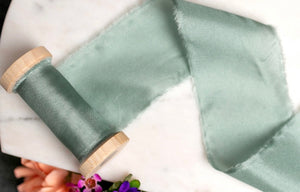 Bridesmaid Ribbon Wedding Clutch