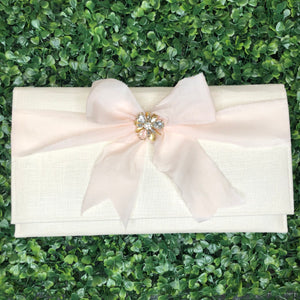 Bridal Ribbon Bag - Pink