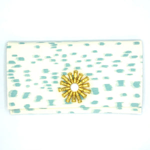 Donna Clutch Turquoise
