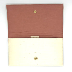 Courtney Clutch Cream