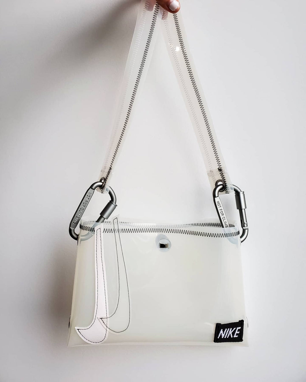 Custom Double Swoosh Bag