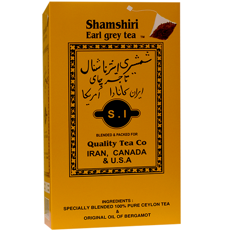 Shamshiri Earl Grey Tea