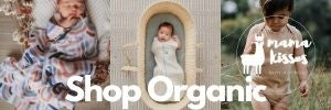 Shop Baby Organic Clothes, Organic Wraps, Organic Gifts, Mama Kisses