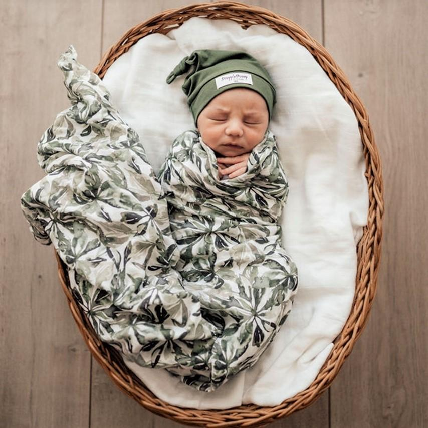 Bundle of Youth - Evergreen Newborn Baby Gift Set | Free Shipping - Mama Kisses