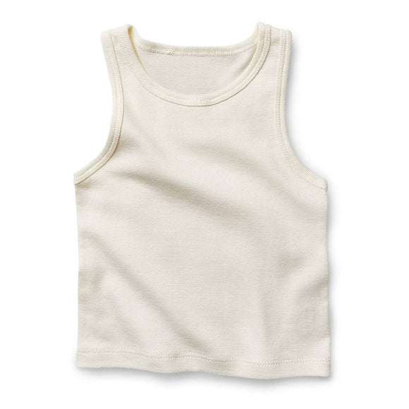 Fibre for Good Organic Cotton Singlet - Mama Kisses