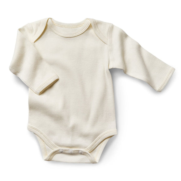 Fibre for Good Organic Long Sleeve Body Suit - Mama Kisses