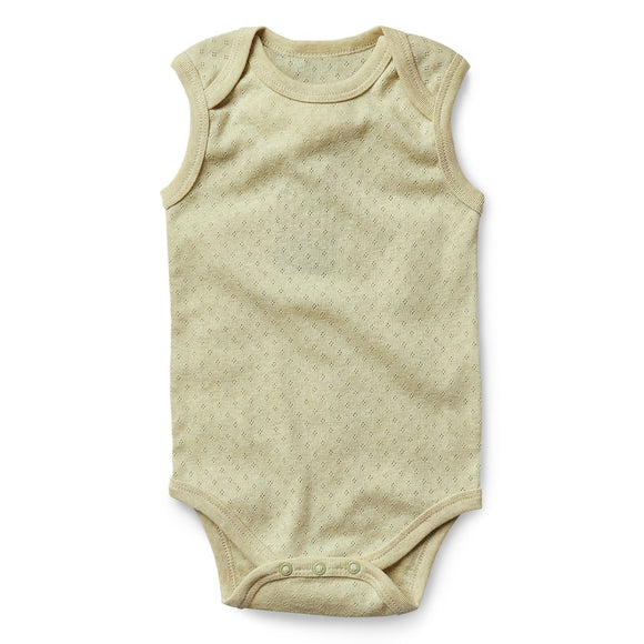 Fibre for Good Organic Sleeveless Body Suit - Mama Kisses