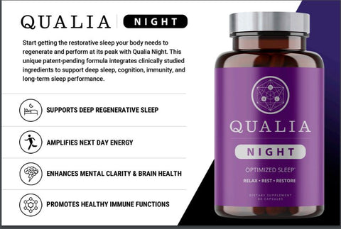 Qualia Night Benefits