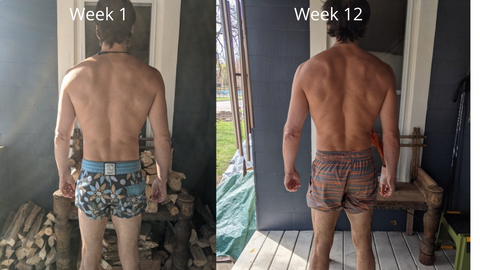 man before and after x3 bar