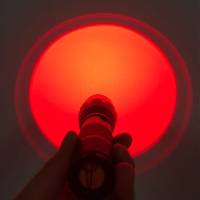 Raven Red Light Flashlight full