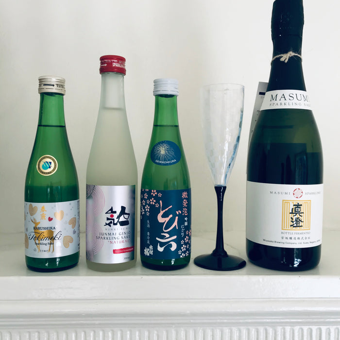 Sparkling Sake – Say Goodbye to 2020 with Sparkling Sake
