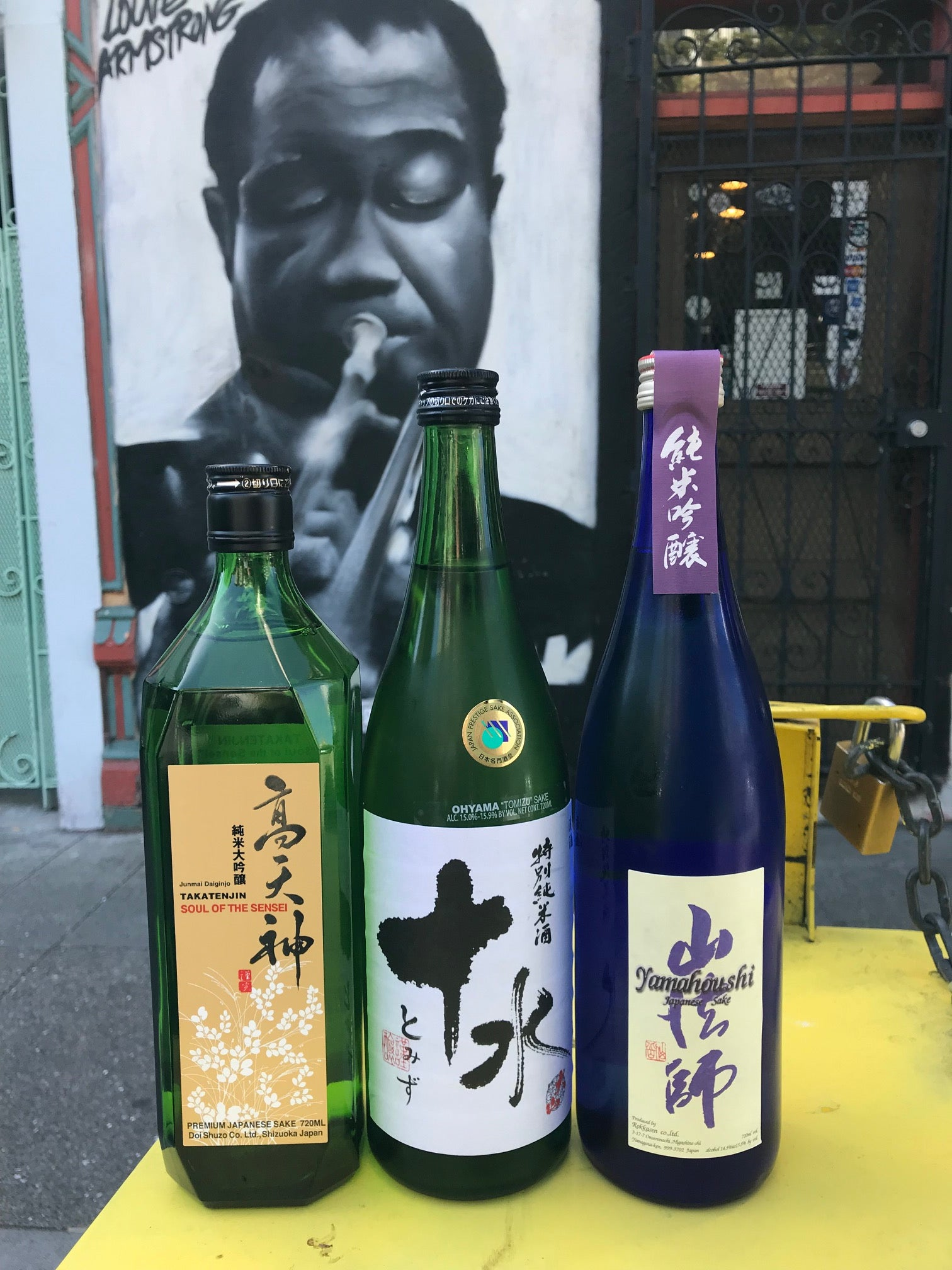 Top 10 List – 10 Like Water Sake
