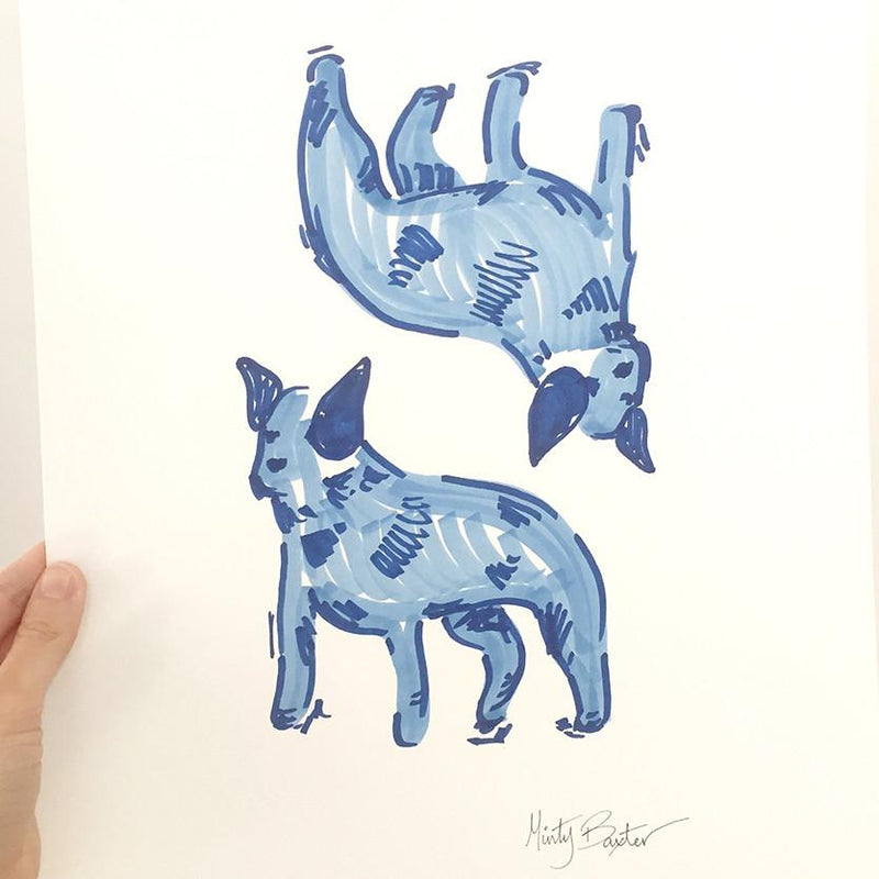 Original Art - Blue Healer