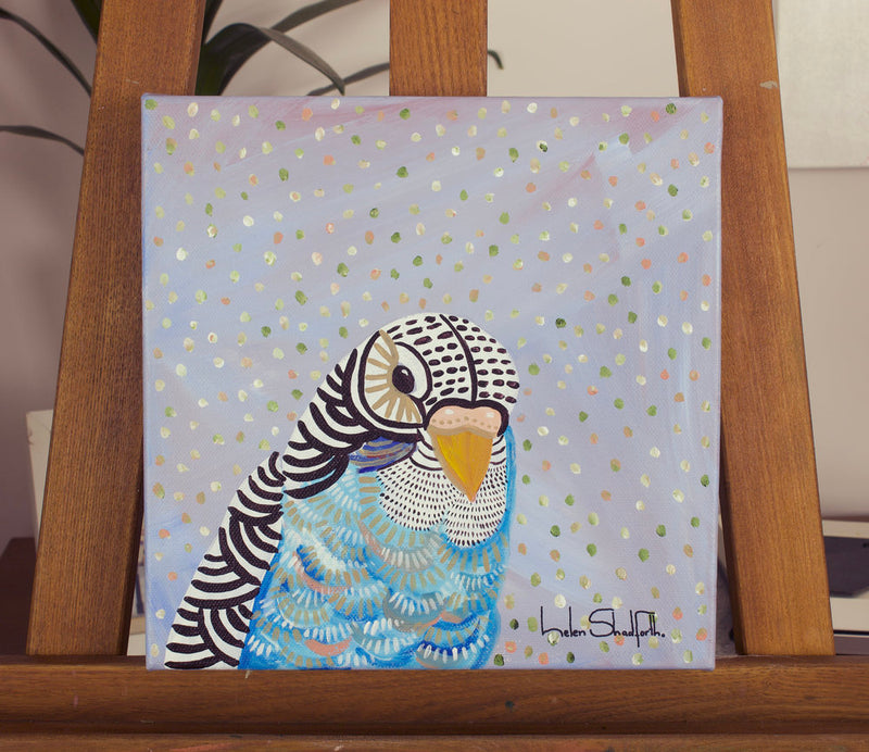 Budgie Blue ***SOLD