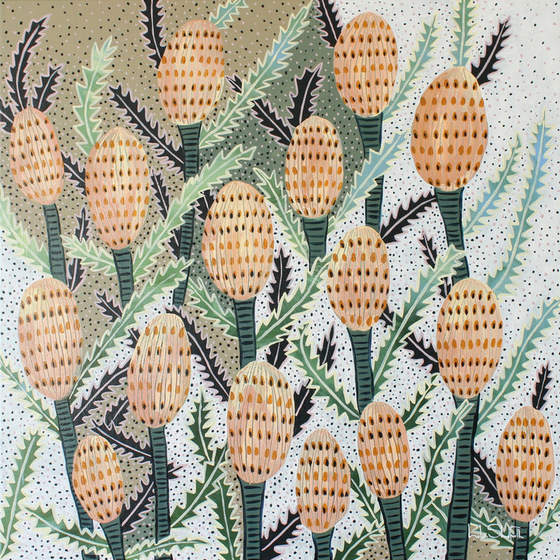 Happy Banksia 2 ***SOLD