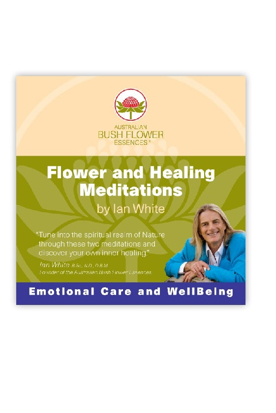 Flower & Healing Meditation CD