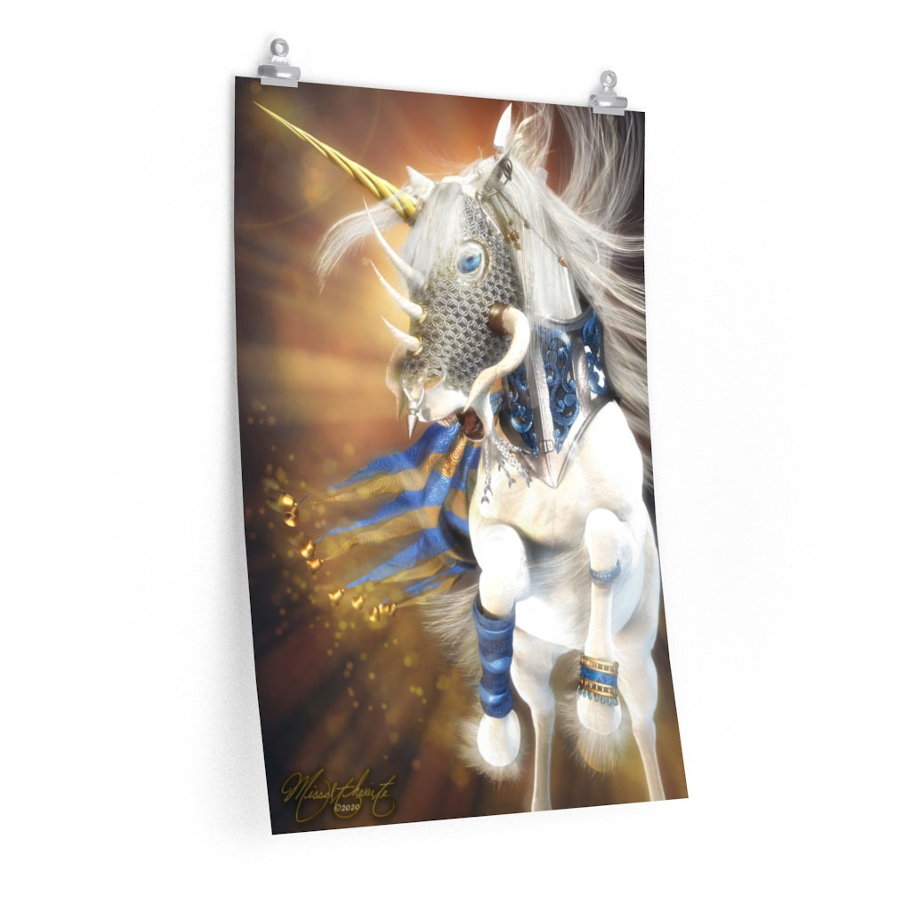 When A Good Horse Goes To War Unicorn Prints Posters Prettymystical