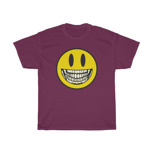 Smiley Skelly - Unisex Dark T-shirt