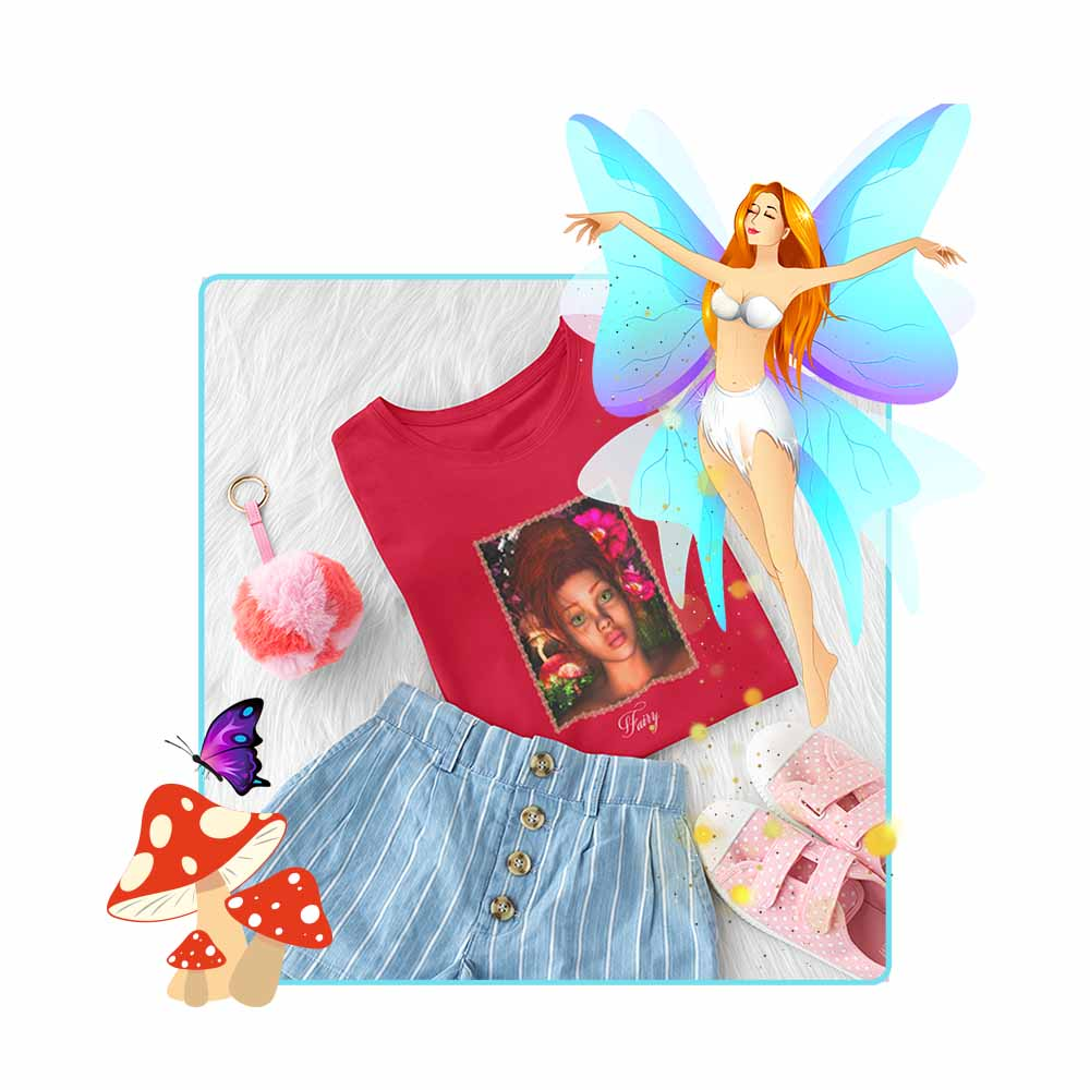"But Why? - ""Fairy"" - Girl's Princess Fairy T-shirt"