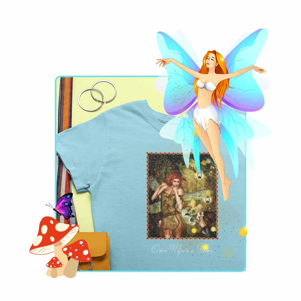 "For Me? - ""Once Upon a Time"" - Women's Fairy T-shirt"