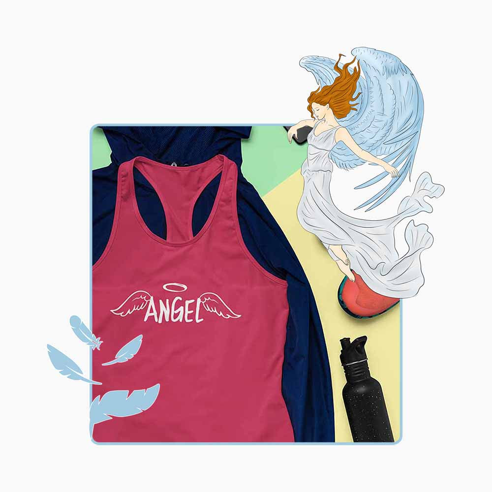 I'm Your Angel - Women's  Angel Tank Top