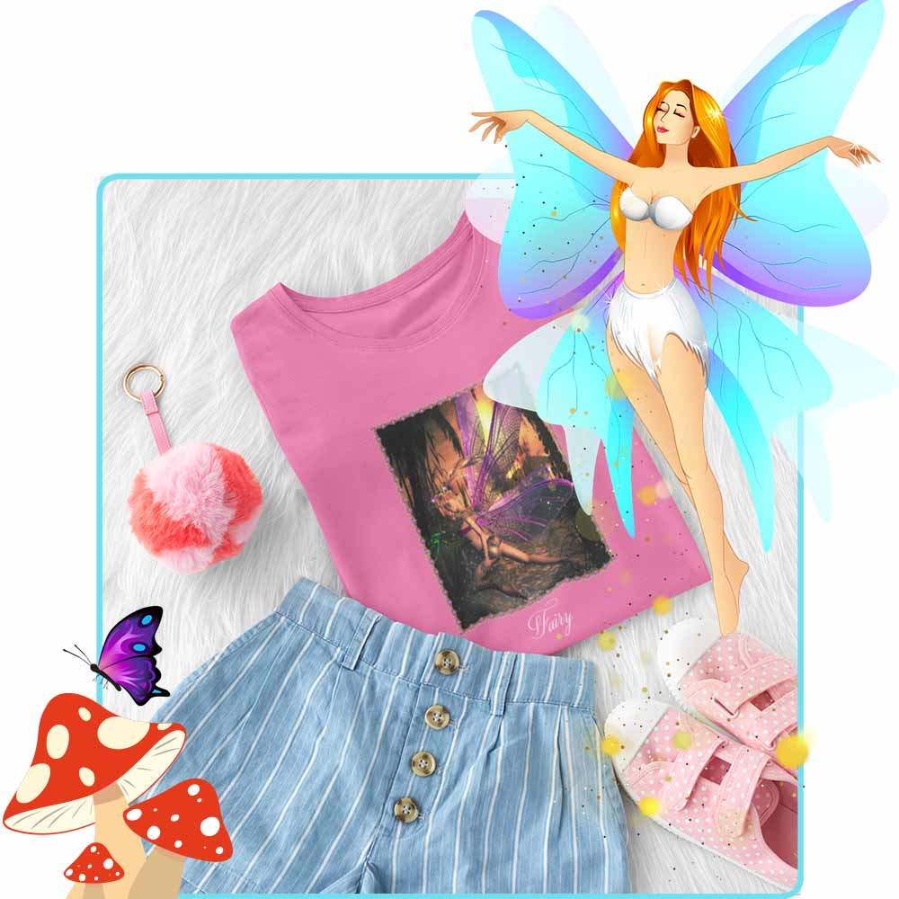"Island Hopping - ""Fairy"" - Girl's Princess Fairy T-shirt"