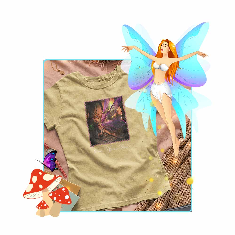 "Island Hopping - ""Once Upon a Time"" - Women's Fairy T-shirt"