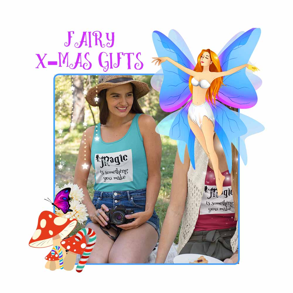 Magic is Something you Make - Women's Fairy Tank Top