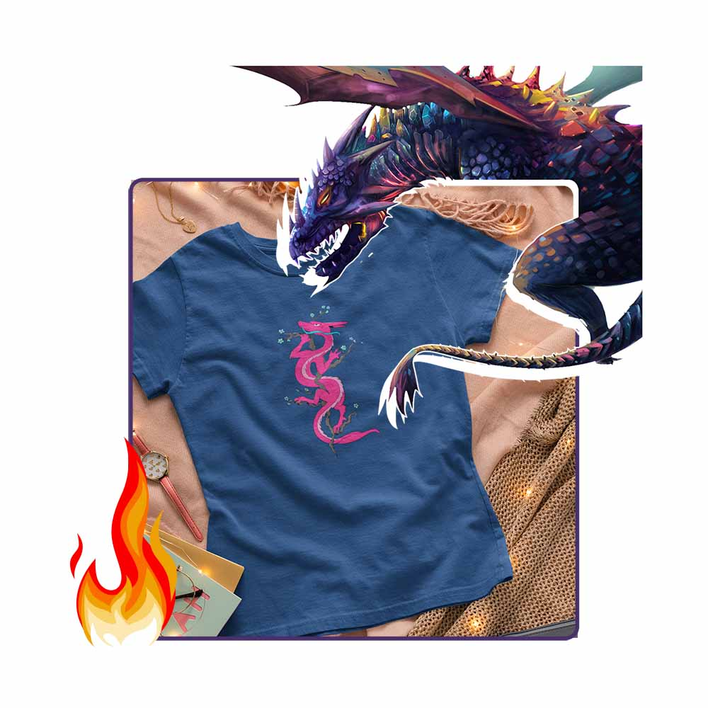 Mrs Dragon - Women's Dragon T-shirt