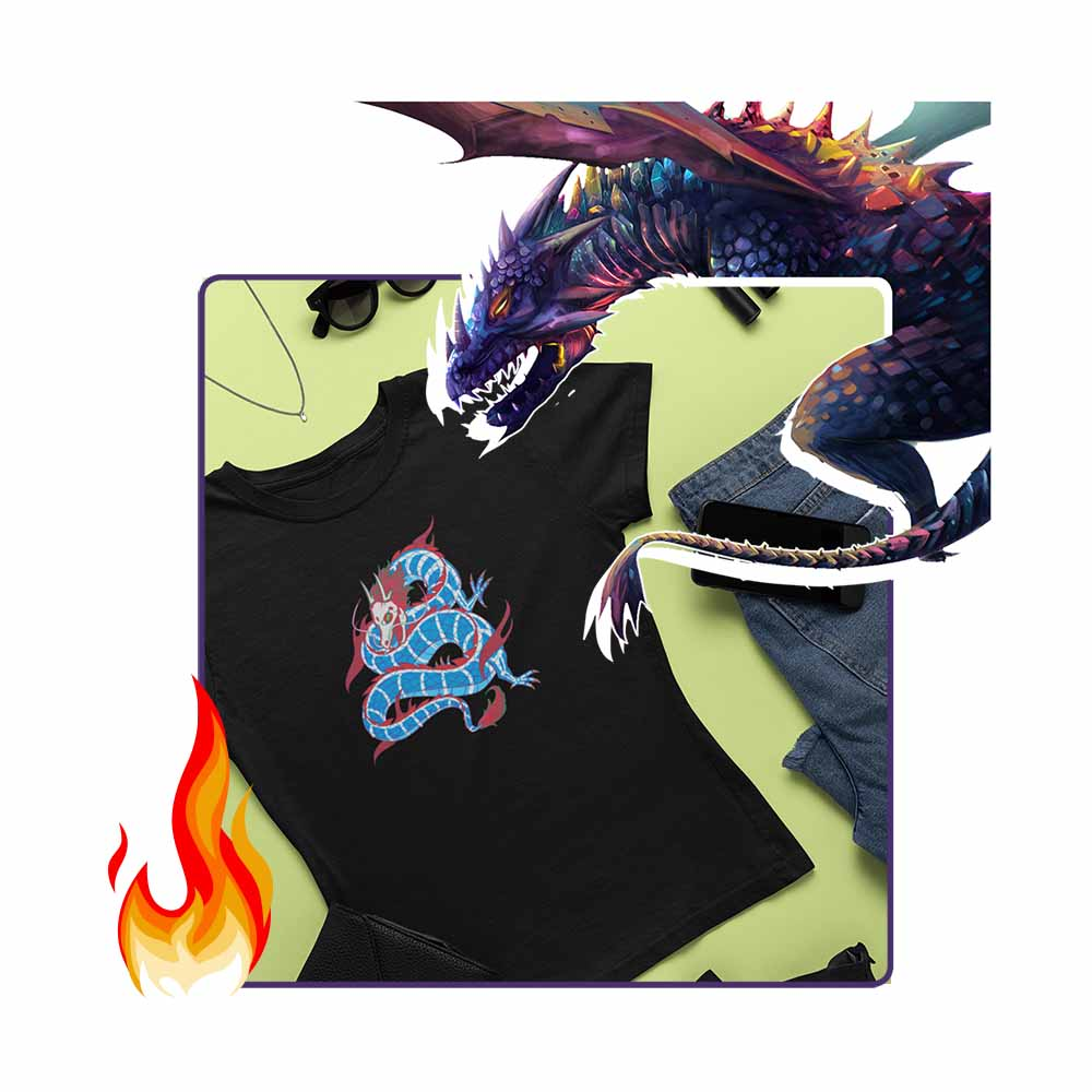 Eastern Dragon - Women's Dragon T-shirt