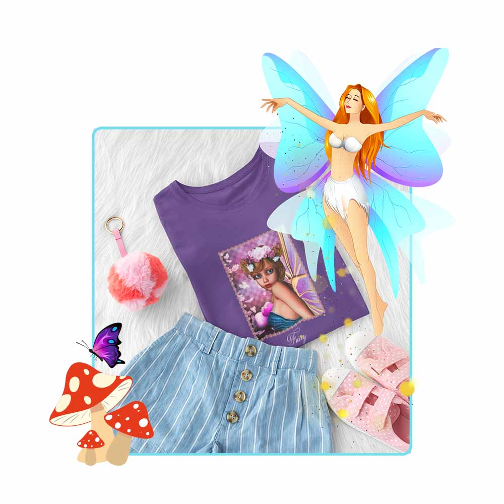 "Scamp - ""Fairy"" - Girl's Princess Fairy T-shirt"