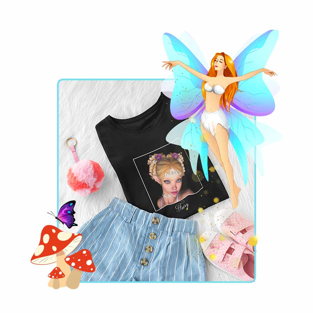"Simply Sweet - ""Fairy"" - Girl's Princess Fairy T-shirt"