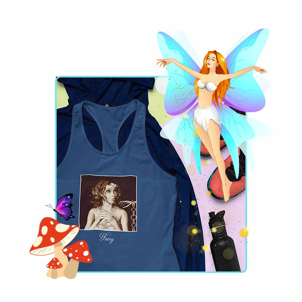 "Solly and the Skelly - ""Fairy"" - Women's Fairy Tank Top"