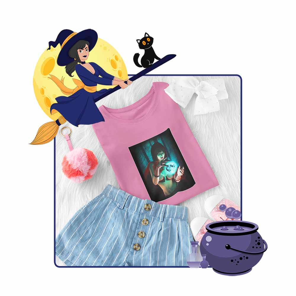 The Spell - Girl's Princess Witch T-shirt