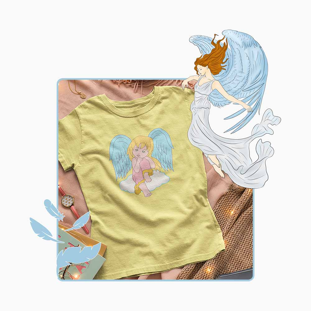 The Littlest Angel - Women's Angel T-shirt